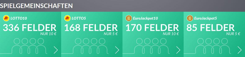 Lotto24 Spielgemeinschaften